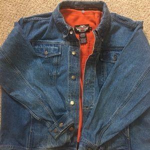 Men's Harley Davidson Jeans Jacket